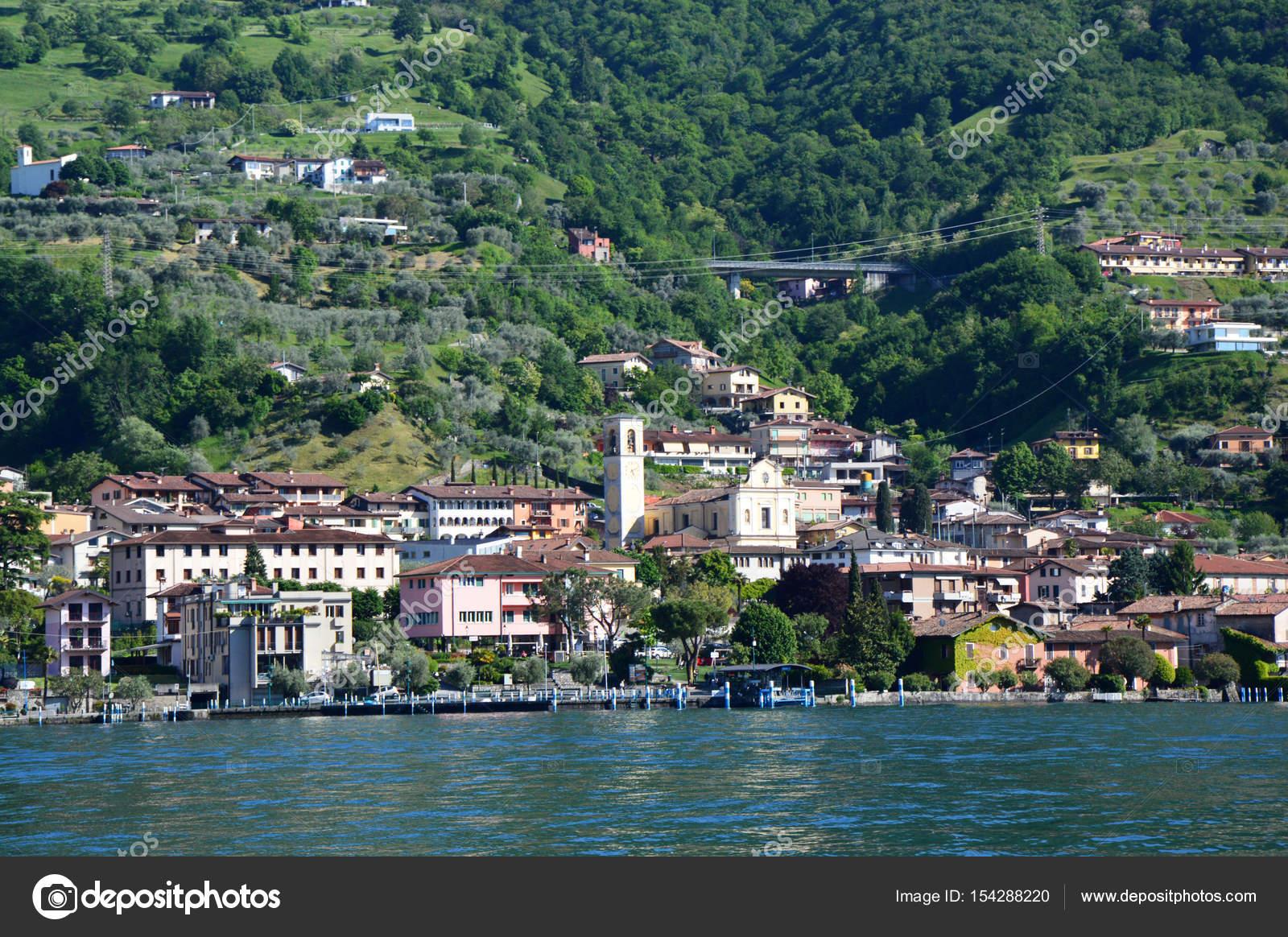 スルツァーノのイセオ湖, イタリ...