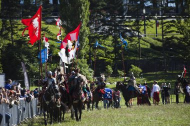 Winged Hussars - Battle inscenisation on Military Picnic