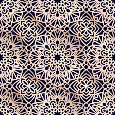 Square Pattern panel for laser cutting with mandalas.