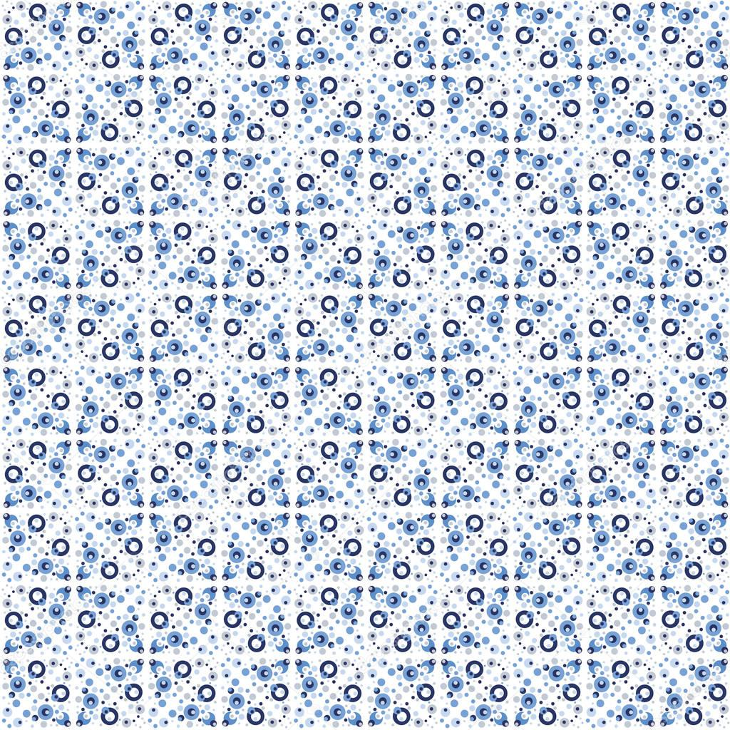 Abstract seamless pattern in Moroccan style