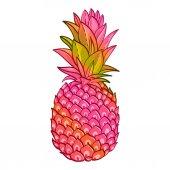 Fotografie Ananas-kreative trendige Kunstposter