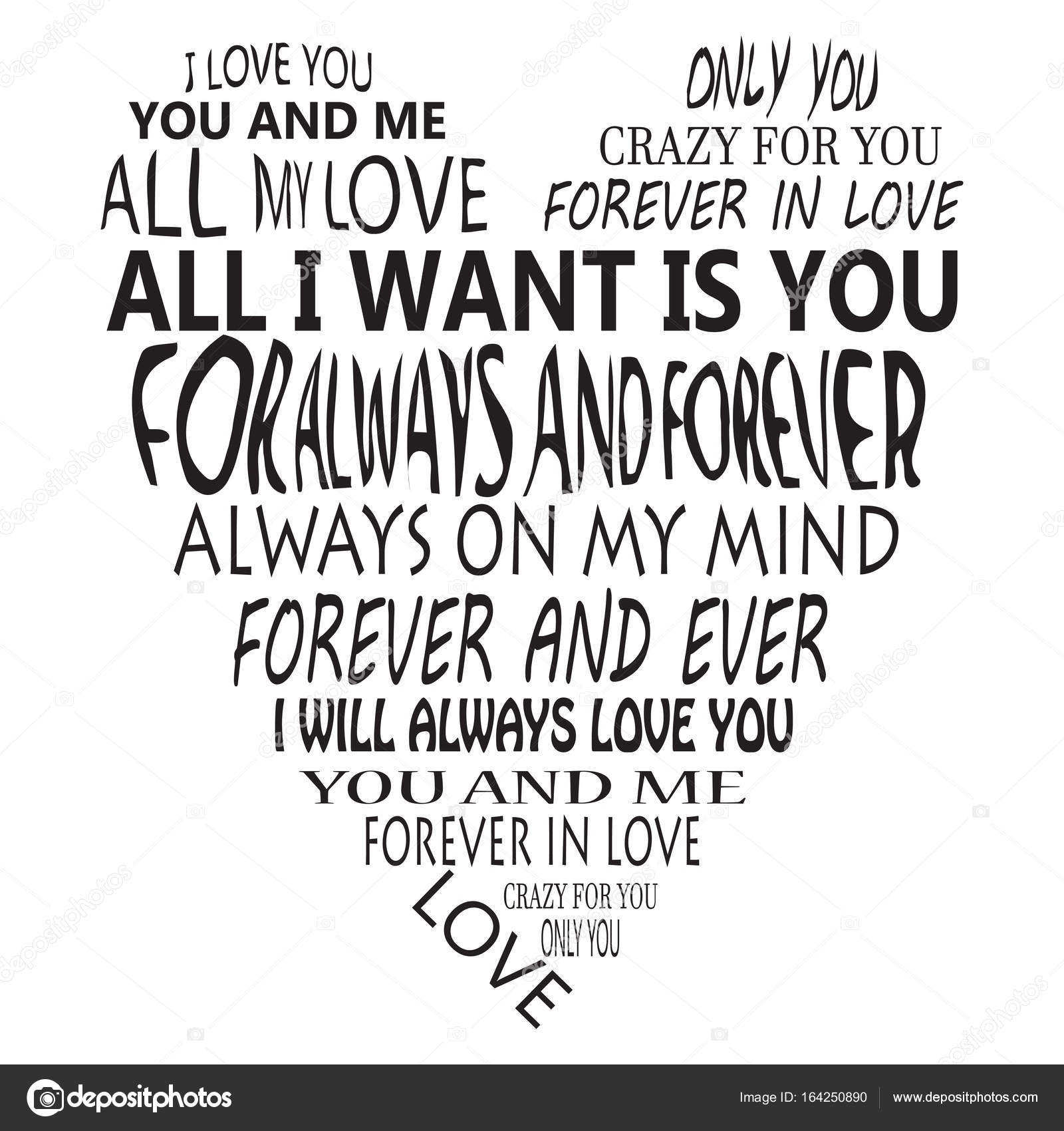 Fotos Frases De Amor Emoticonos Ilustracion De Vector De Una