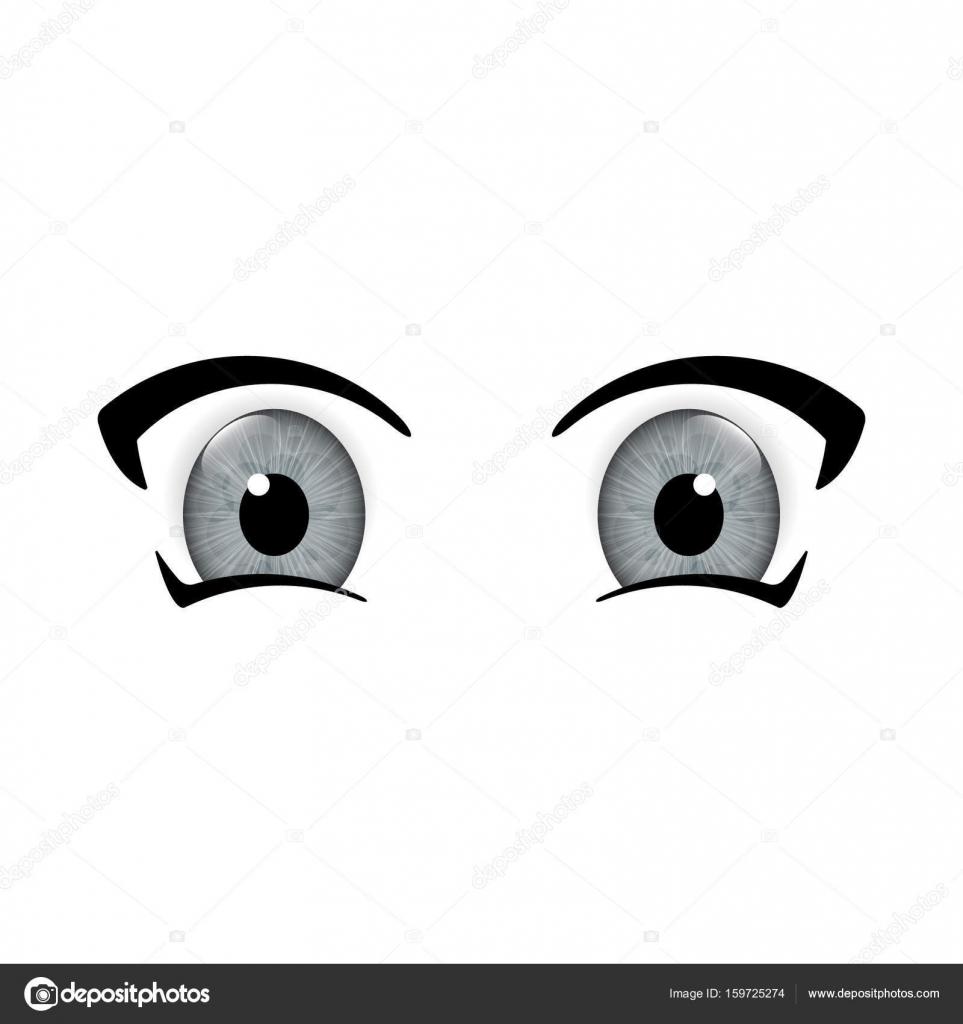 Big Anime Eyes Stock Vector C Stockerart 159725274