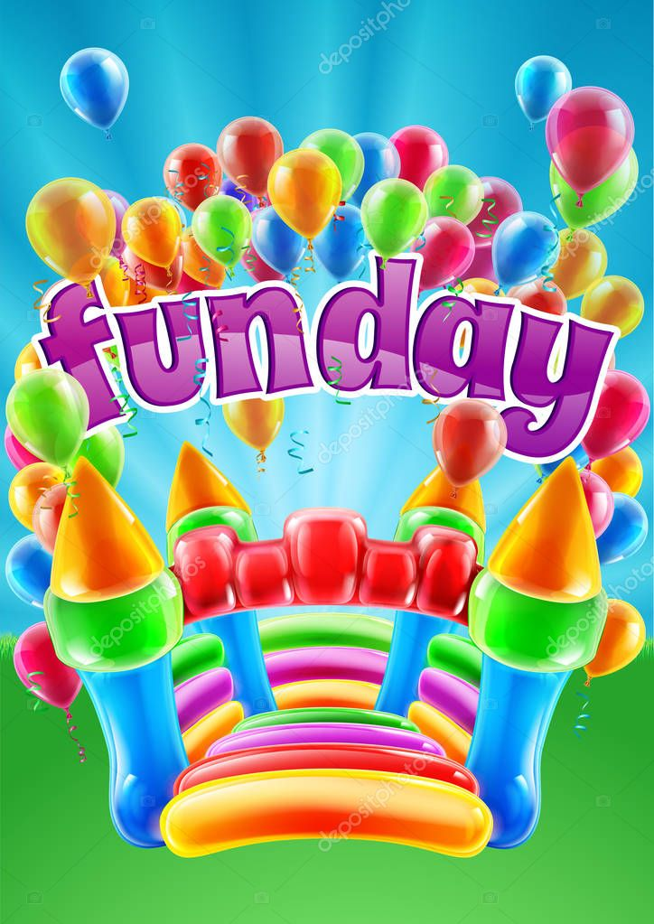 Bouncy Castle Funday Design