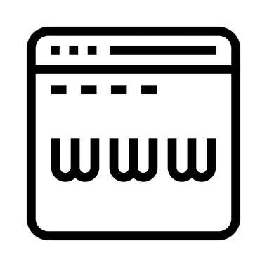 window Vector Line Icon