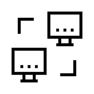 sharing vector line icons