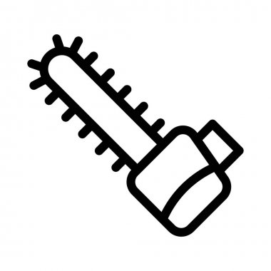 blade vector thin line icon