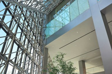 Inside of the office building