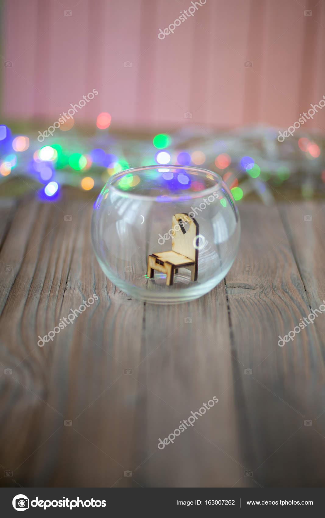 En CristalSilla De Juguete La Madera Bola WHIE9D2