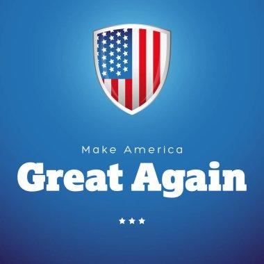 Make America Great Again vector banner