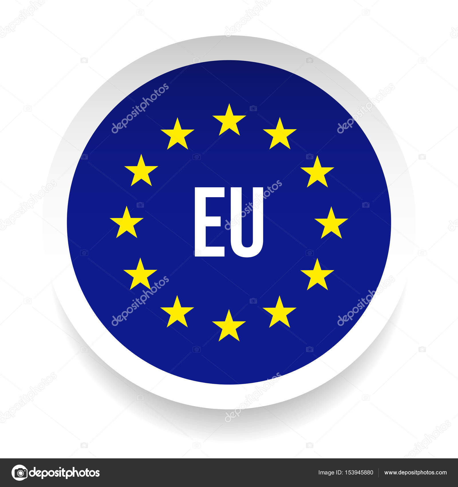 ЕС Ев�опей�кий �о�з лого�ип �имвол � Век�о�ное