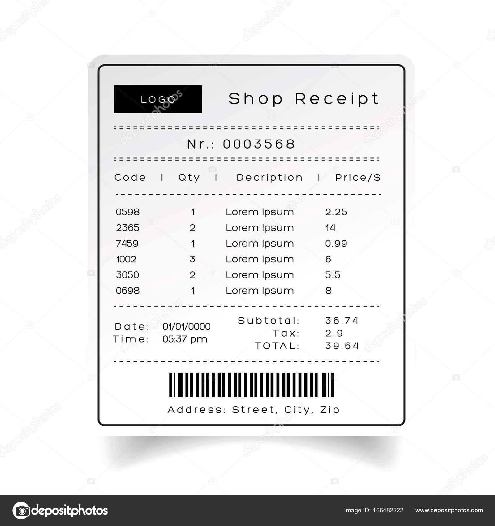 Shop Eingang Vorlage Vektor — Stockvektor © Grounder #166482222