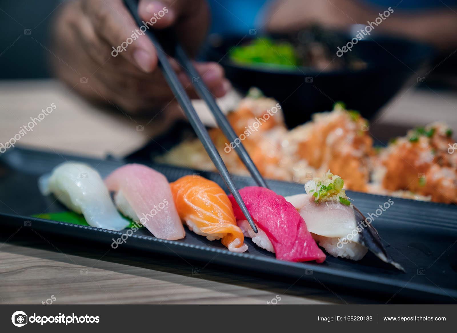 La Migliore Cucina Giapponese Sushi U2014 Foto Stock