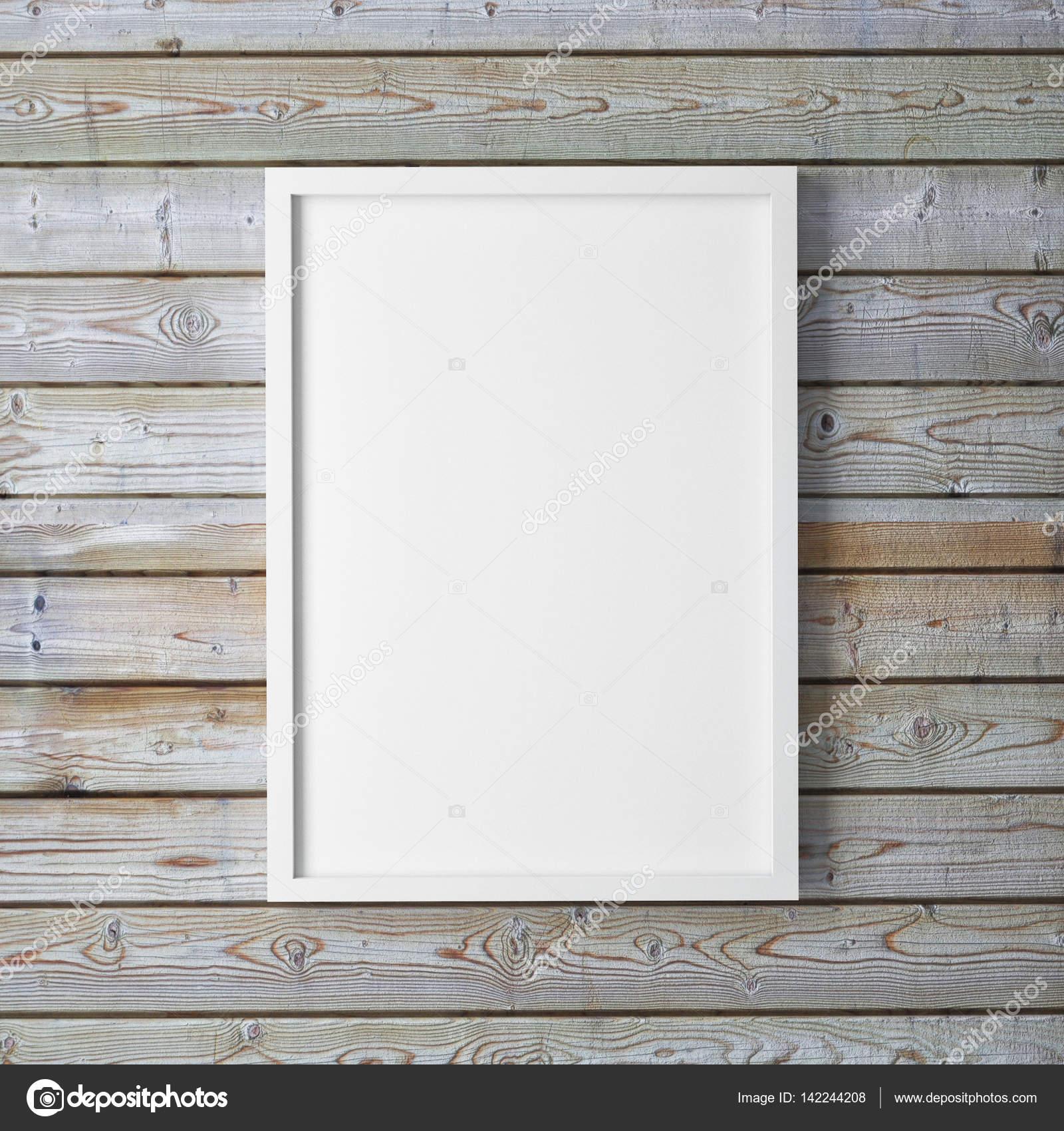 Mock-up Poster Rahmen und Leinwand in Galerie innen Hintergrund ...