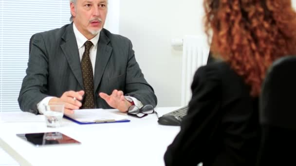 Business people at Job interview