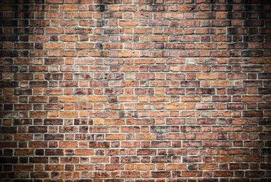 Old vintage brick wall texture