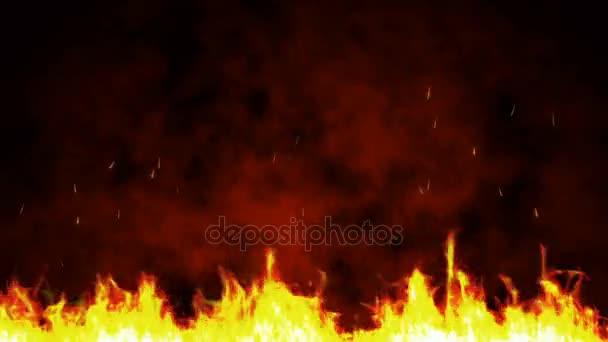 Background Fire Particles Hallowen — Stock Video © obolon3212@gmail ...