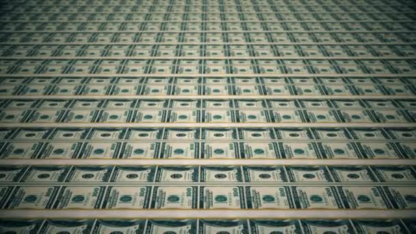 Dolarové bankovky, peníze pozadí.