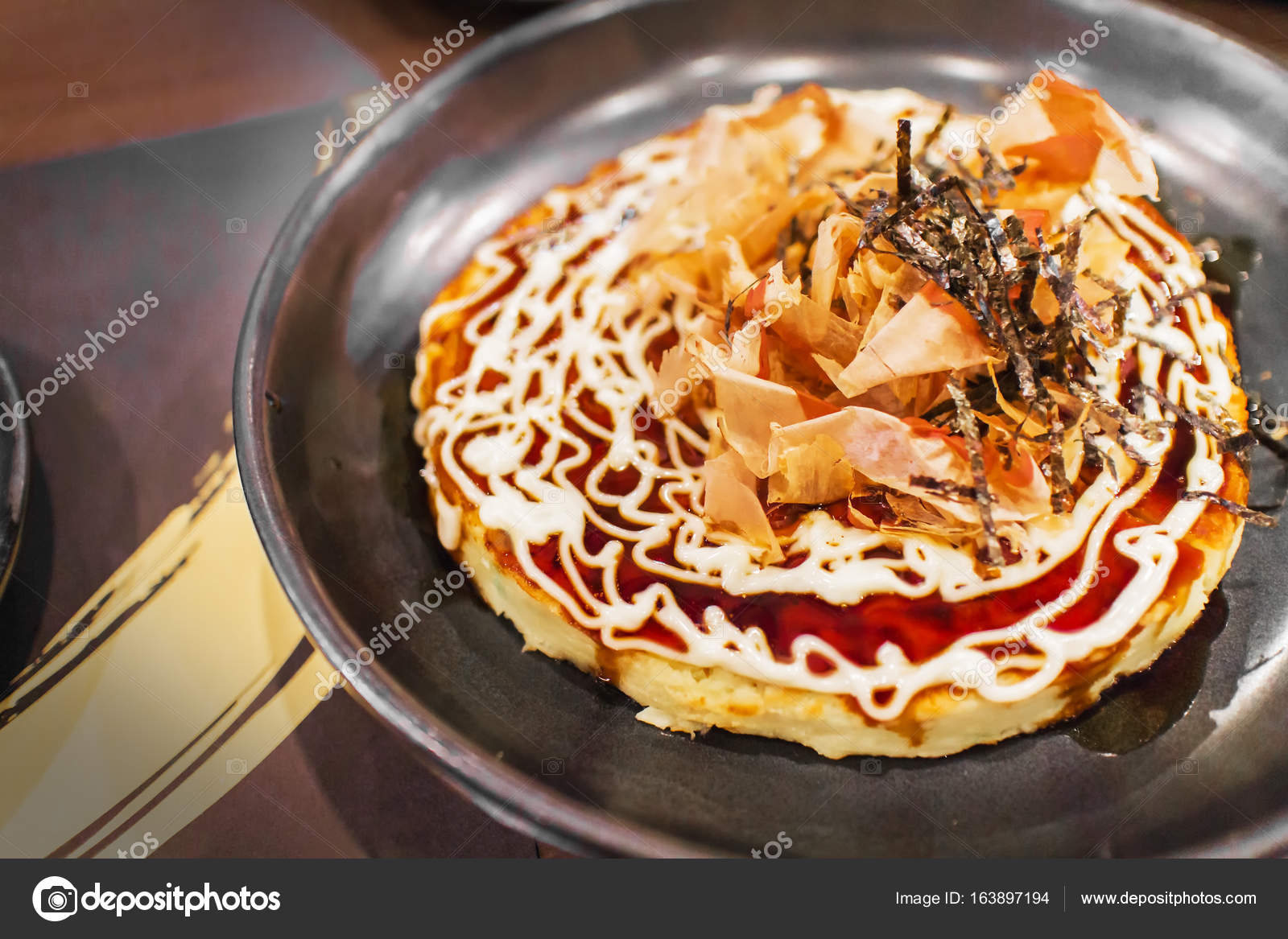 Okonomiyaki recipe japanese style pancakes or pizza popular okonomiyaki recipe japanese style pancakes or pizza popular japanese traditional food stock forumfinder Image collections