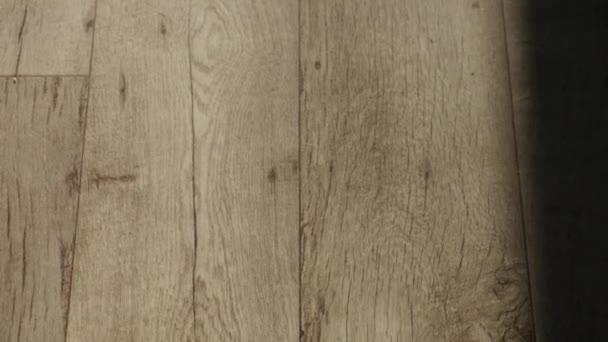 Dřevo staré pozadí, vintage dřevěné textury 4k video