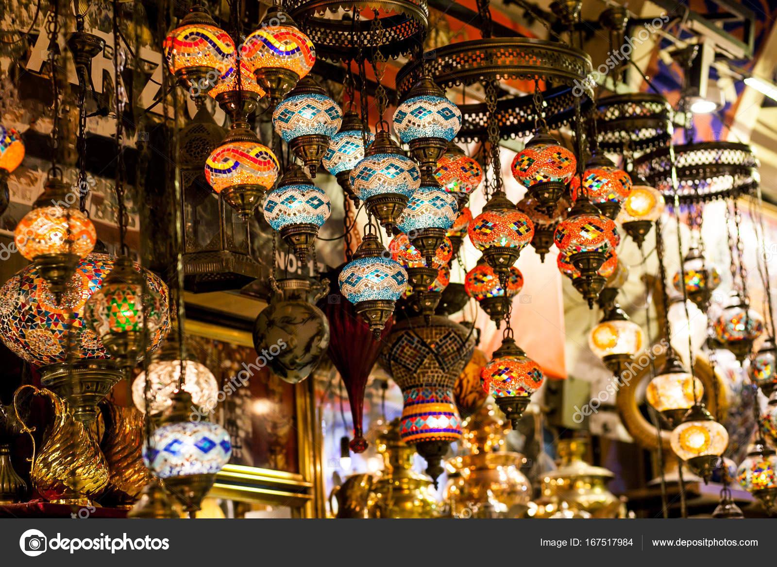 Lanterne Lampade Orientali Foto Stock C A Ostankova 167517984