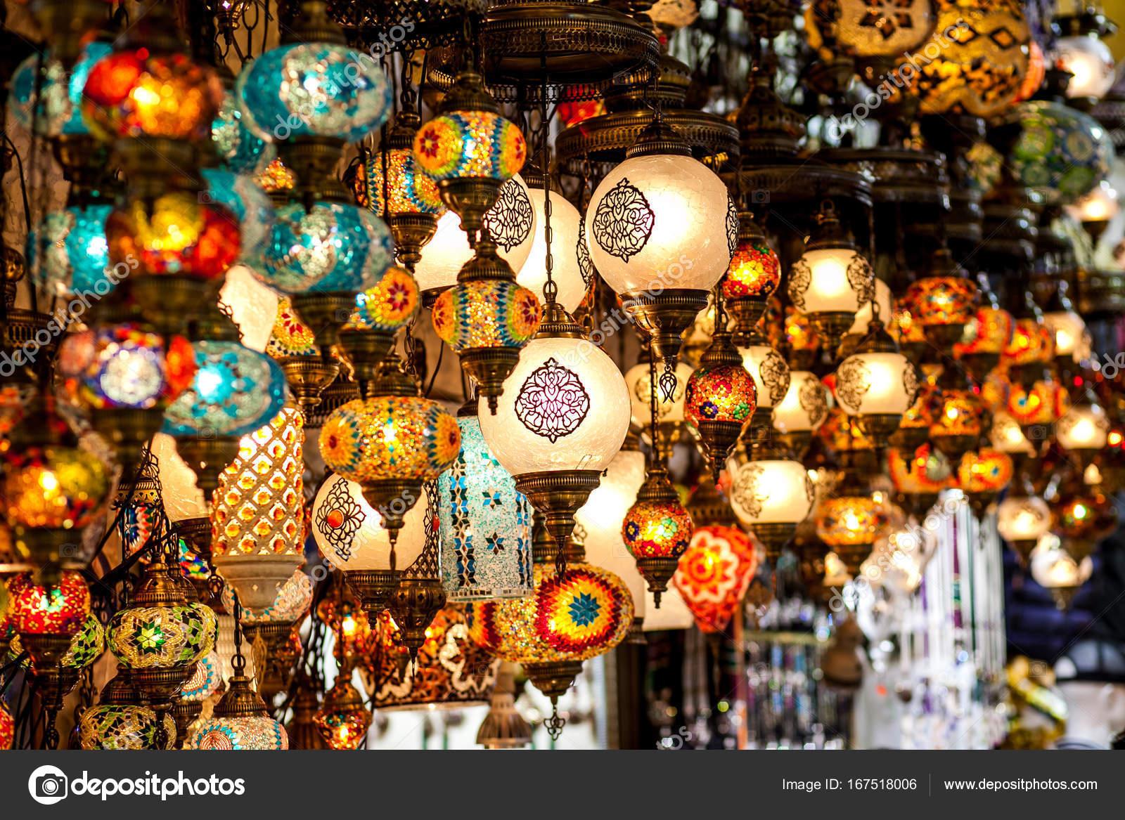 Lanterne Lampade Orientali Foto Stock C A Ostankova 167518006
