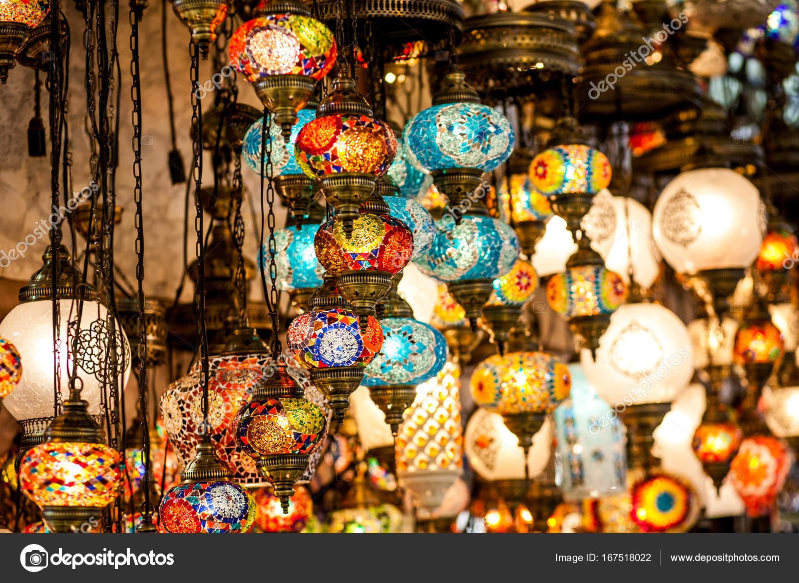 Lanterne Lampade Orientali Foto Stock C A Ostankova 167518022