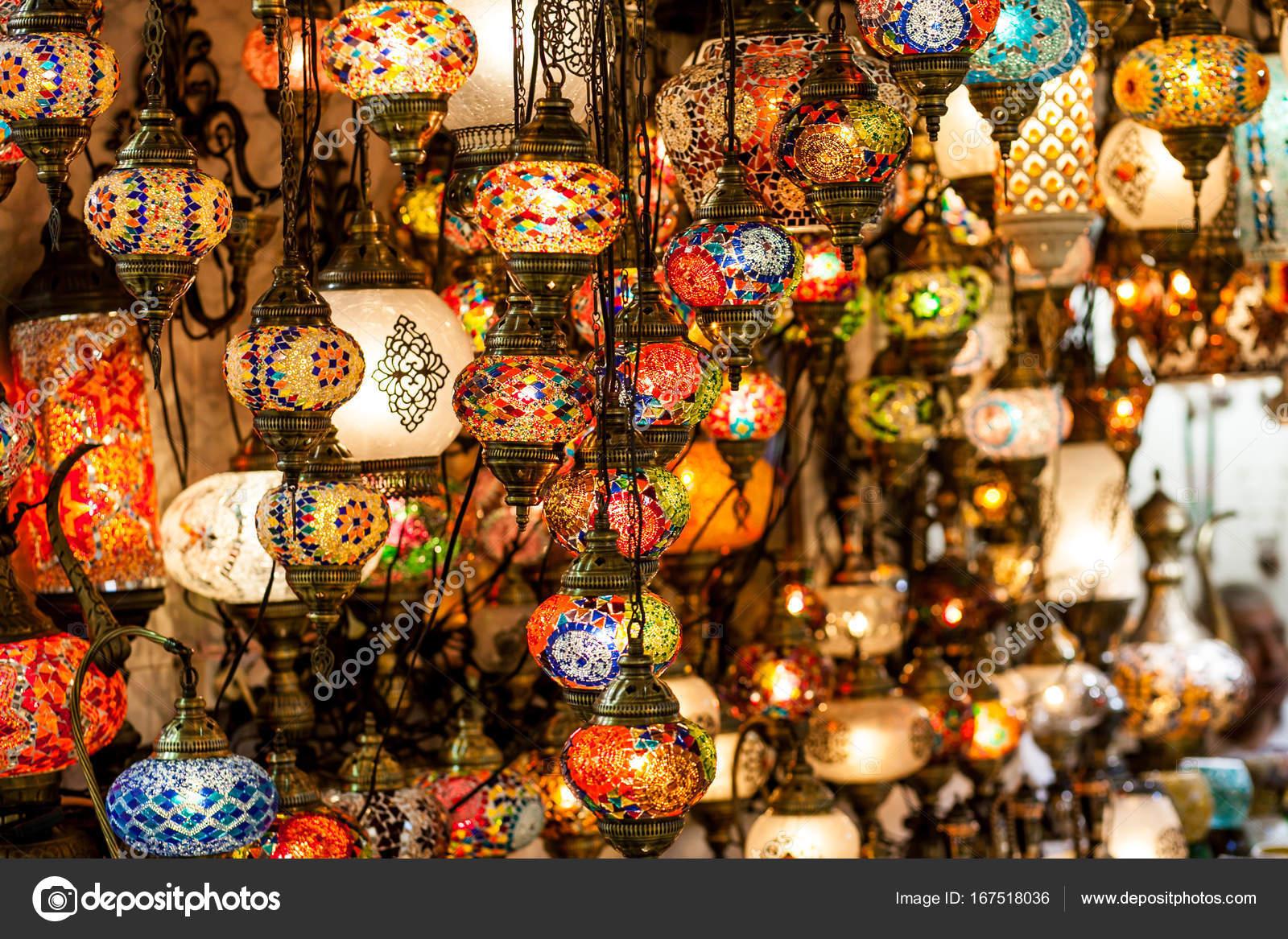 Lanterne Lampade Orientali Foto Stock C A Ostankova 167518036