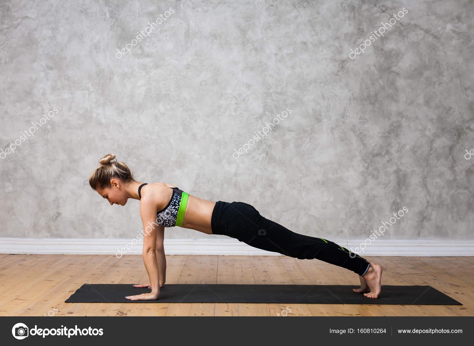Dandasana (Plank Pose)