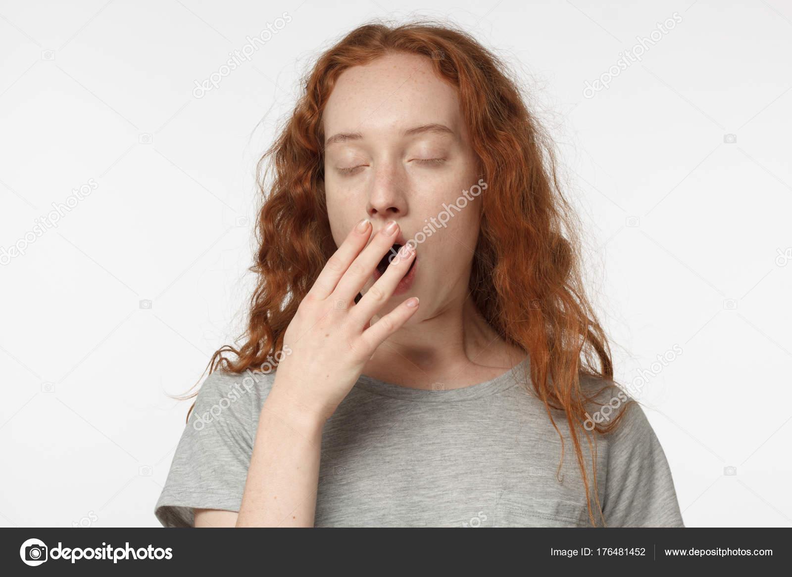 Рыжая в рот