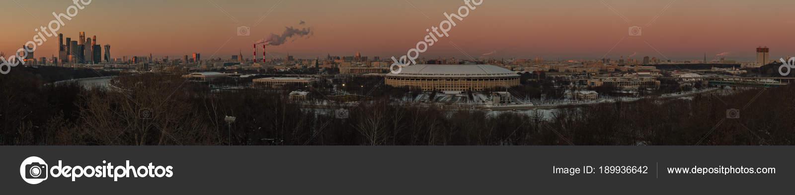 Moscow Panorama IV – Stock Editorial Photo © brunocoelhopt