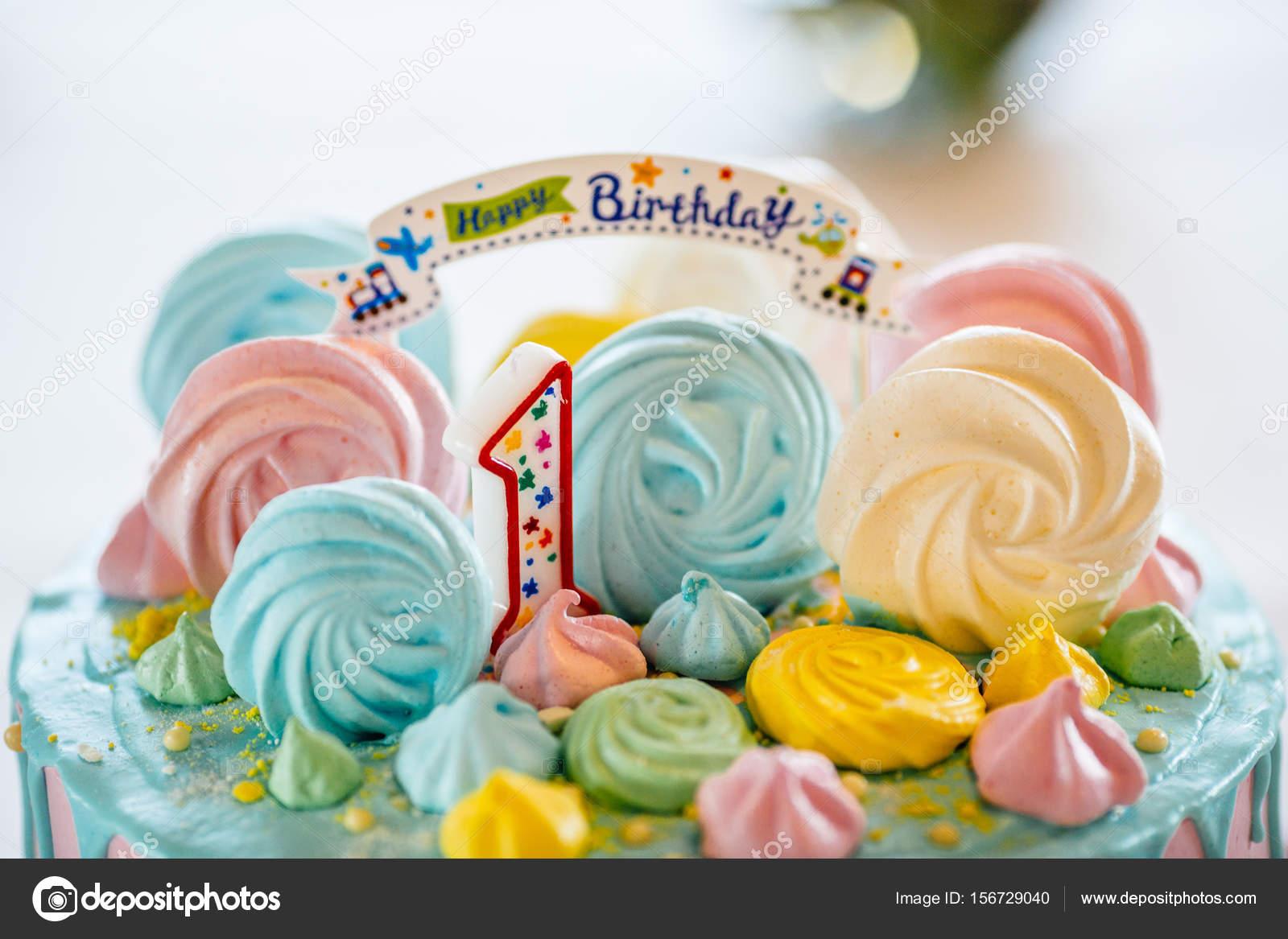 Magnificent Eerste Jaar Verjaardagstaart Stockfoto C Vaksmanv101 156729040 Funny Birthday Cards Online Alyptdamsfinfo