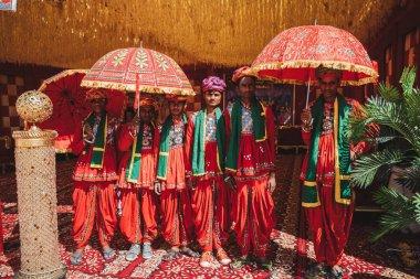 local people at Indian Sankranthi (Indian Hindu Festival)