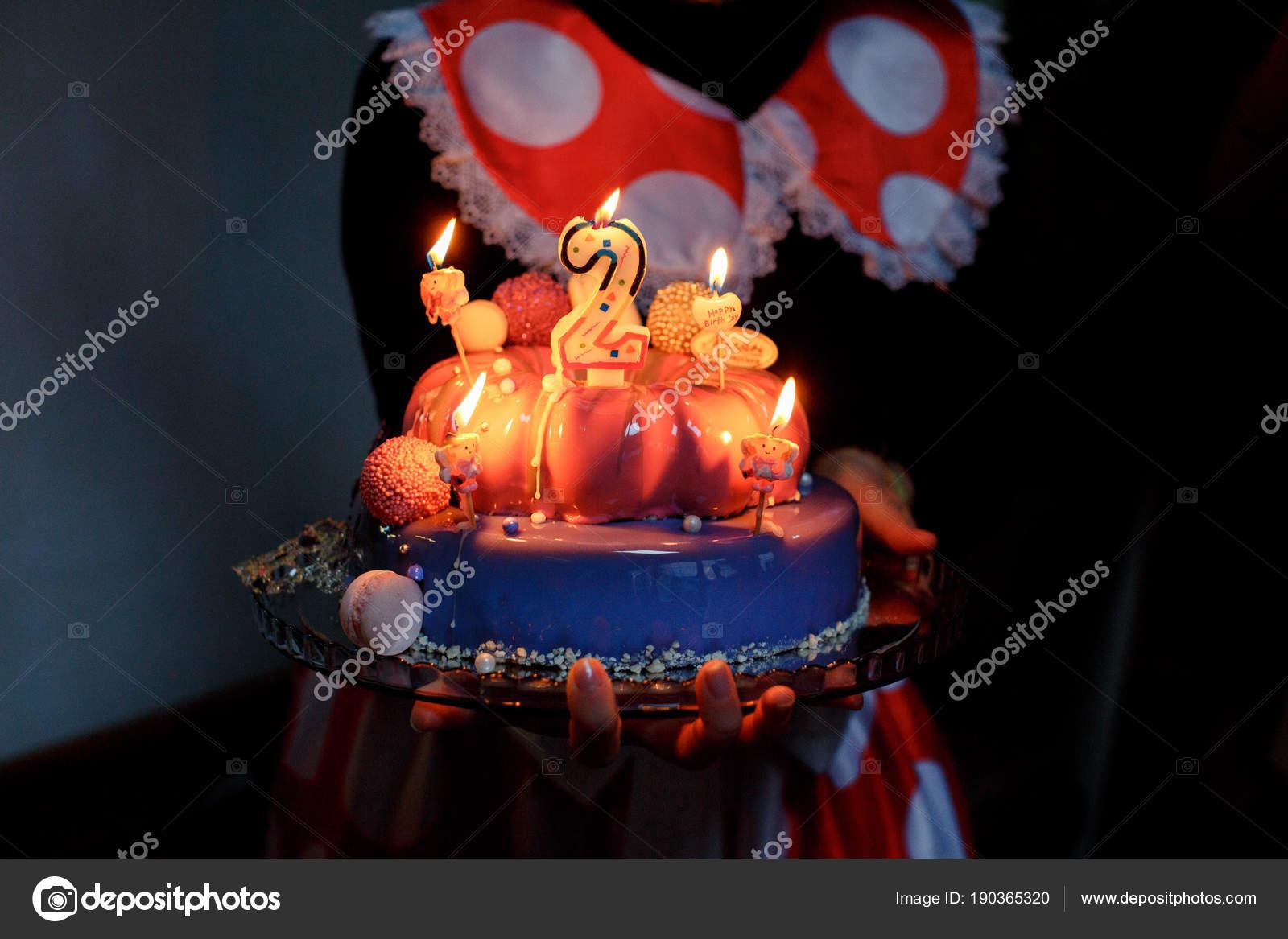 Happy Birthday Cake Candles Stock Photo Vaksmanv101 190365320