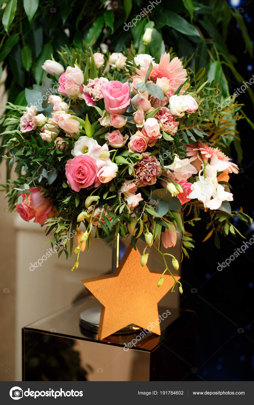 Bouquet beautiful flowers birthday party stock photo vaksmanv101 bouquet beautiful flowers birthday party stock photo izmirmasajfo