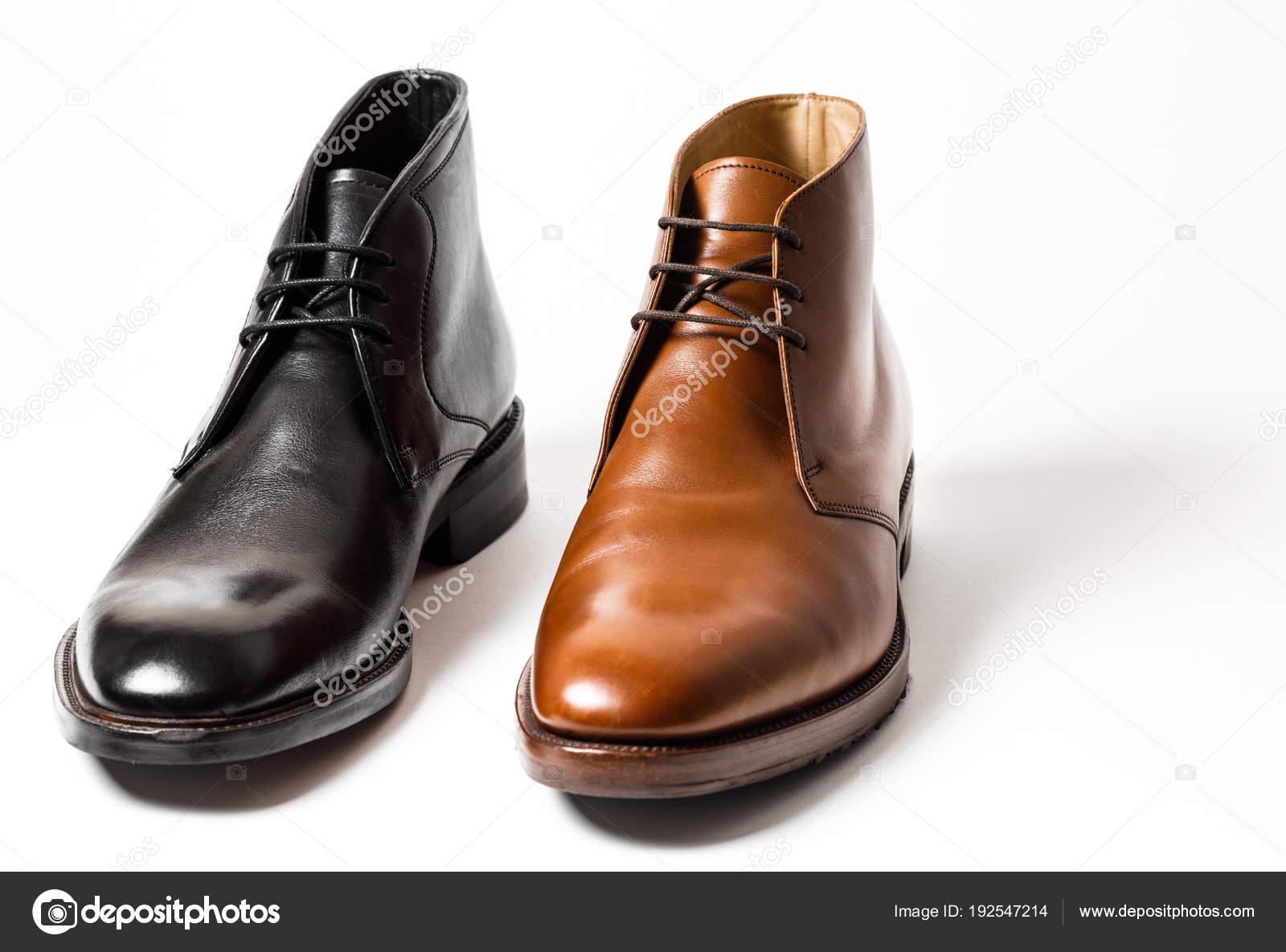 Clásicos Zapatos Sobre Aislados Fondo Hombre De Blanco d1waq1Ag