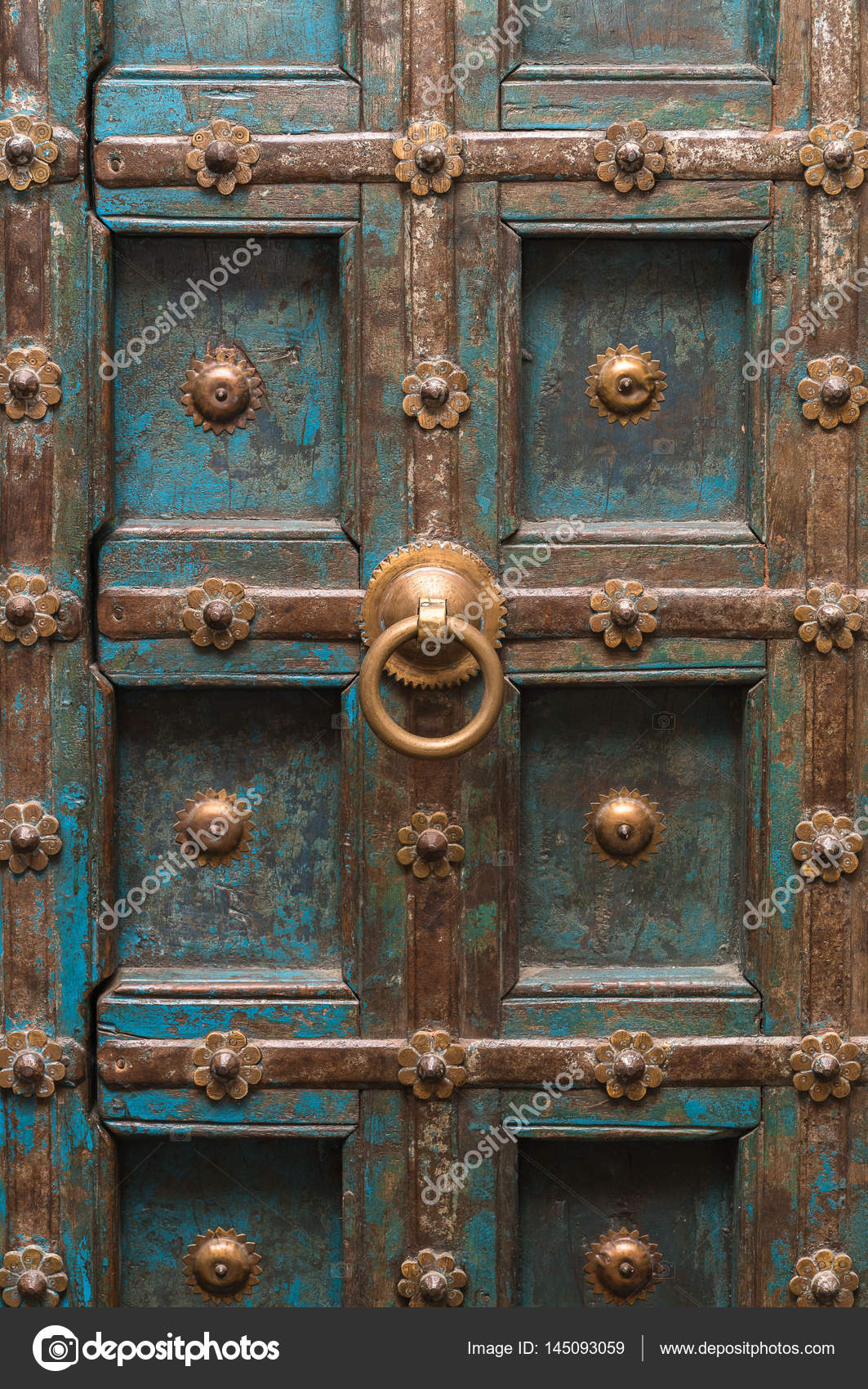 Ancient oriental doors close up for the detail \u2014 Photo by praphab@hotmail.com & ancient oriental doors close up for the detail \u2014 Stock Photo ...