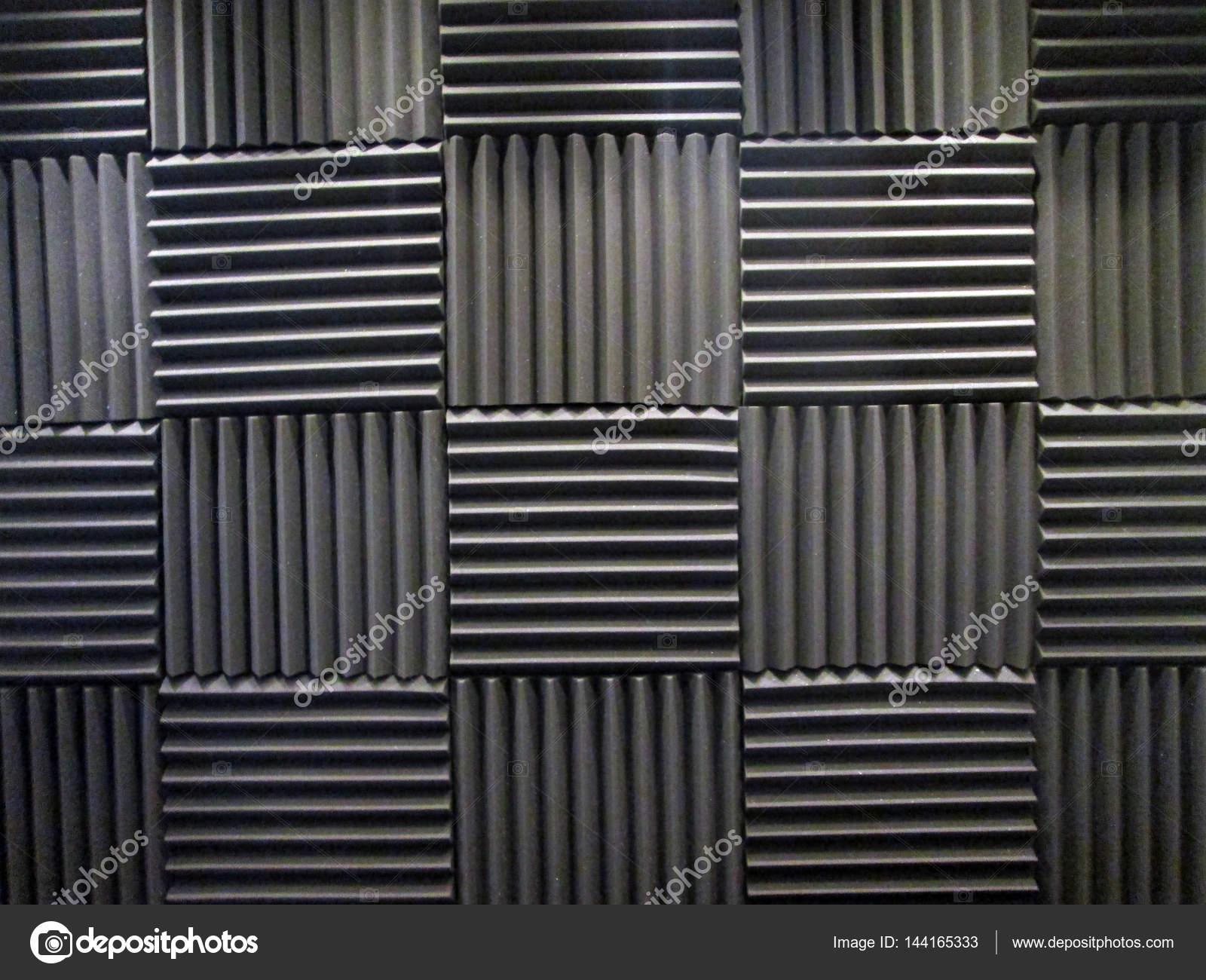 Schiuma acustica o piastrelle per suono di bagnatura sala della