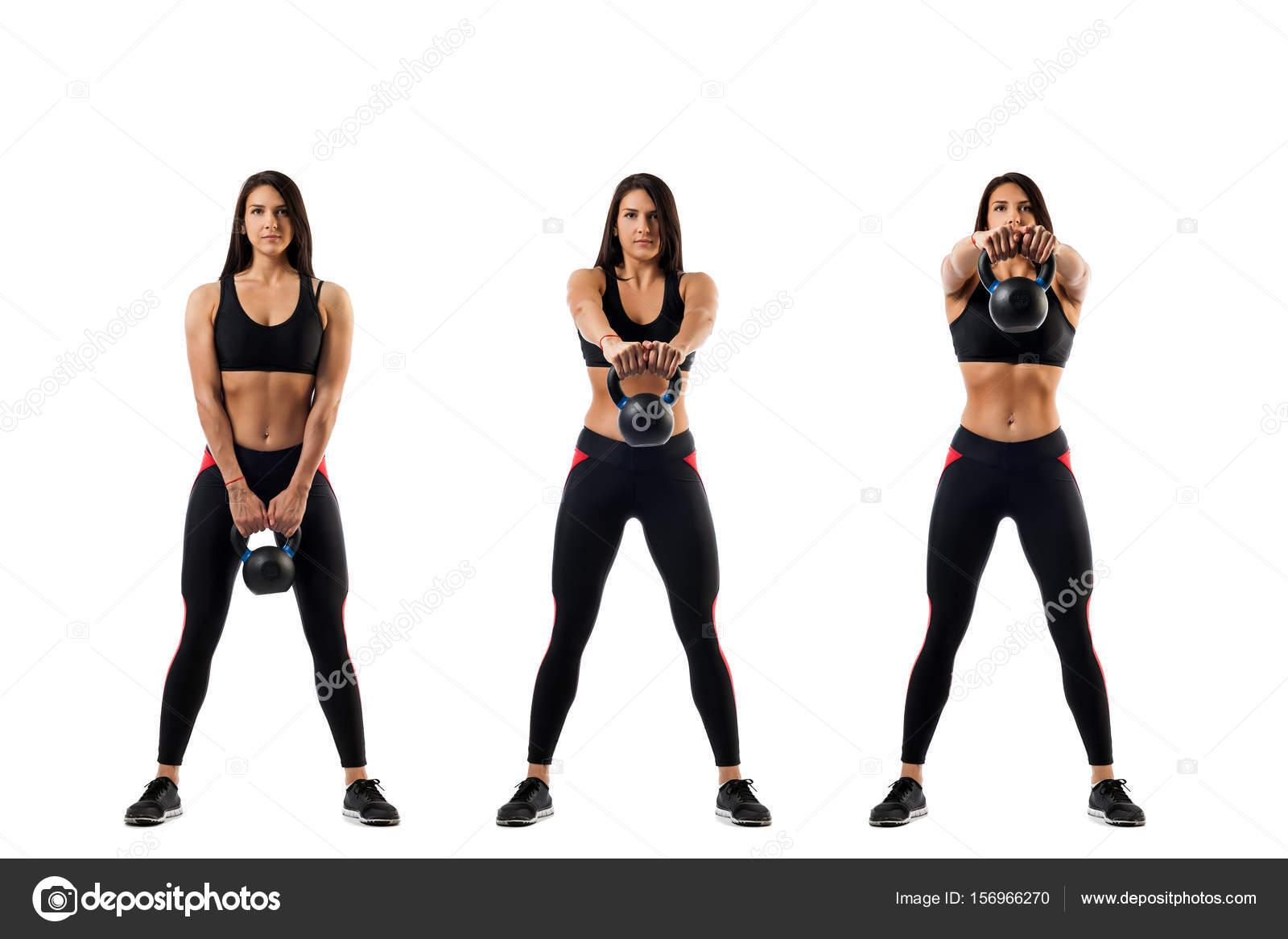 exercice avec poids femme