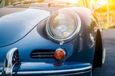 Novosibirsk, Russia - June 16, 2017: Porsche 356