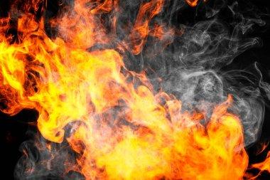 "Картина, постер, плакат, фотообои ""fire flames background. "", артикул 191903454"