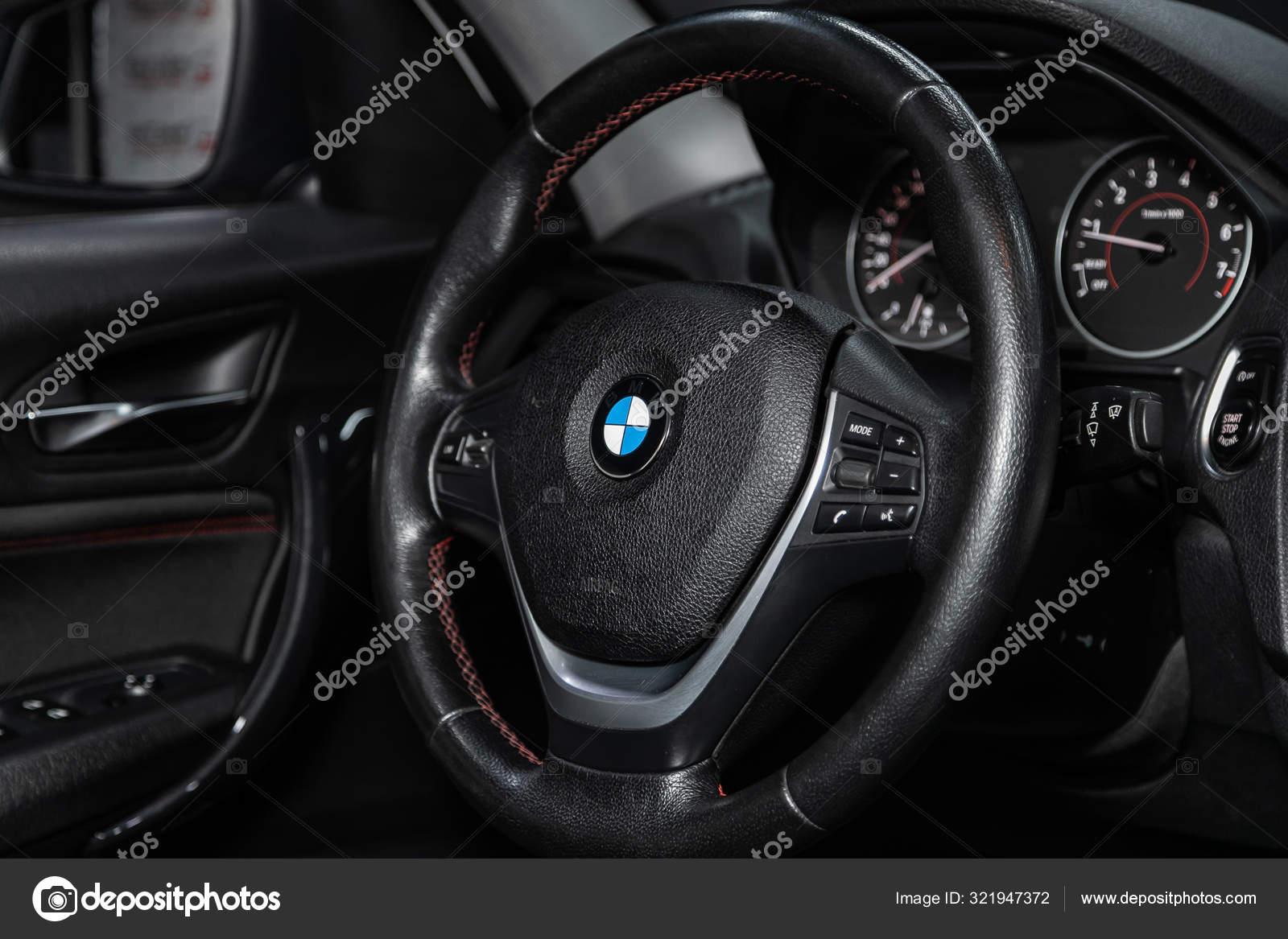 Novosibirsk Russia October 2019 Bmw Series 118i Luxury Car Interior Stock Editorial Photo C Everyonensk 321947372