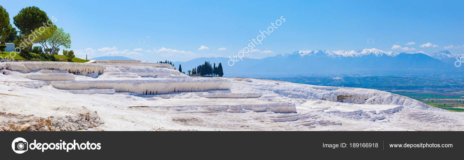 Blanc Les Formations De Travertin Terrasse Piscine à