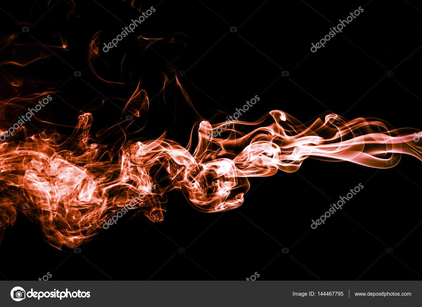 Background Abstract Orange Smoke Abstract Color Smoke On