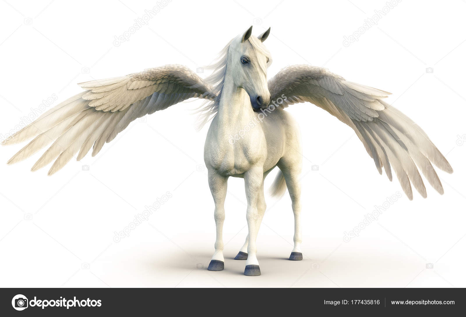 ᐈ White Horses With Wings Stock Pictures Royalty Free White Pegasus Photos Download On Depositphotos
