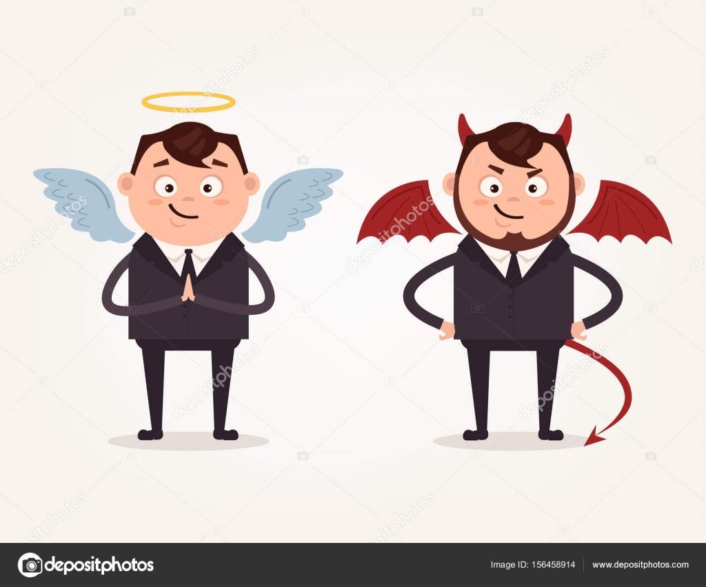 Ange Et Demon Dessin