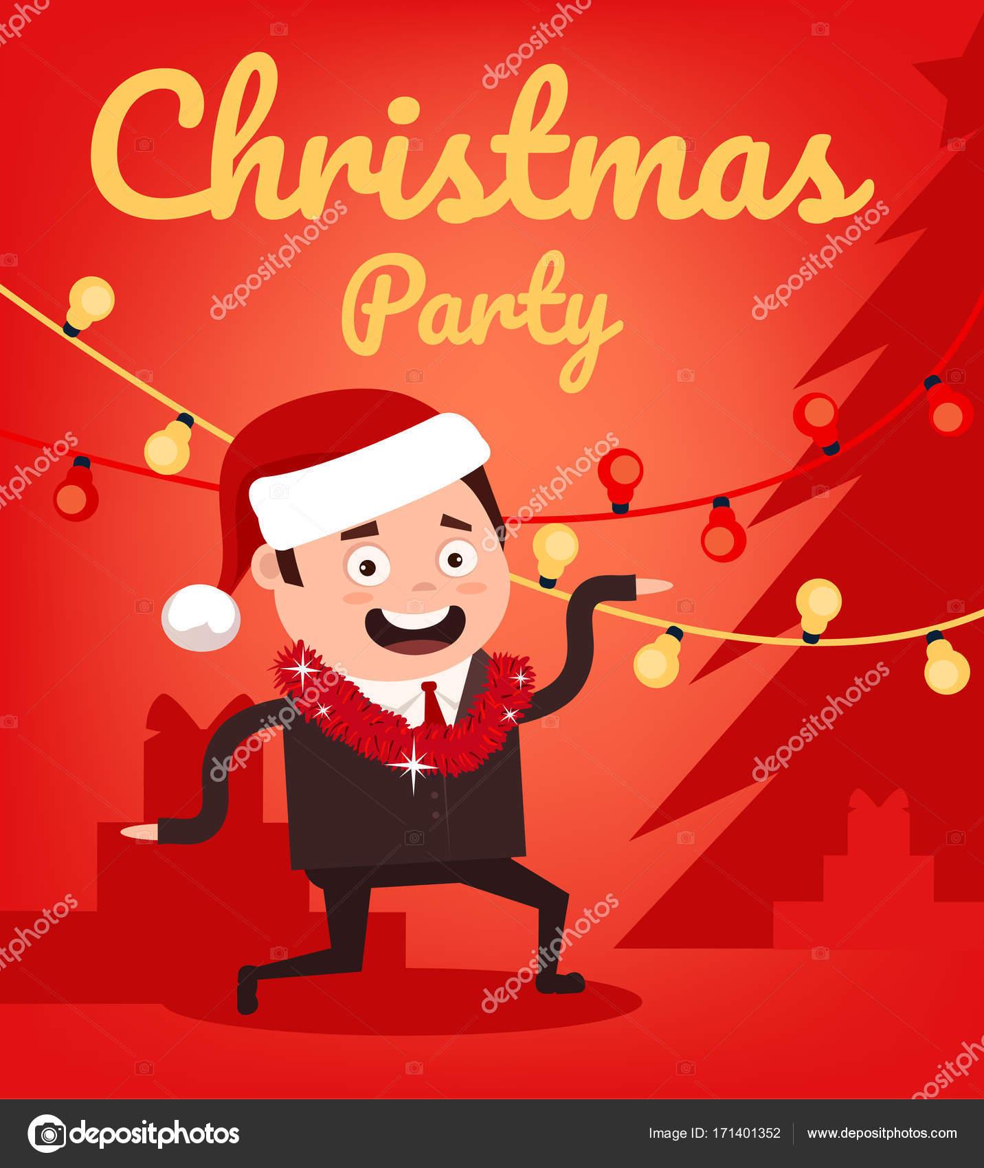 Weihnachten und glückliches neues Jahr glücklich lächelnd Büro ...