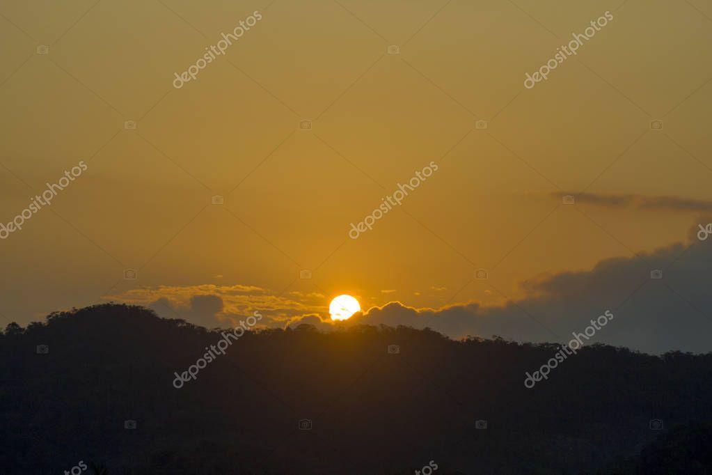 incredible peace sunset cabo San Lucas Mexico