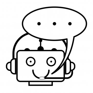 Chatbot icon concept. Vector icon.