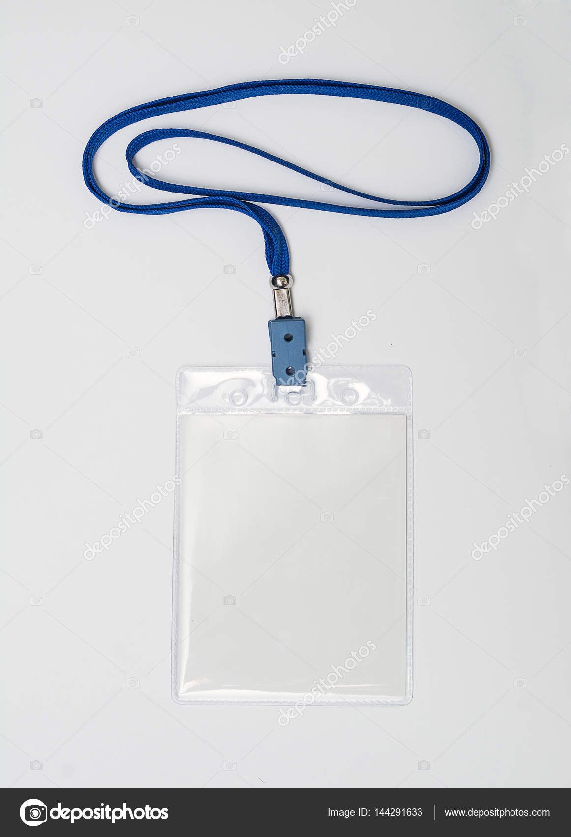 Lanyard And Badge Conference Badge Blank Badge Template In Plastic - Ring security badge template